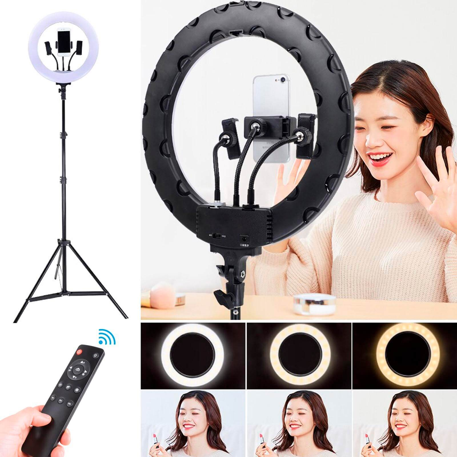 кольцевая лампа для фотосъемки купить